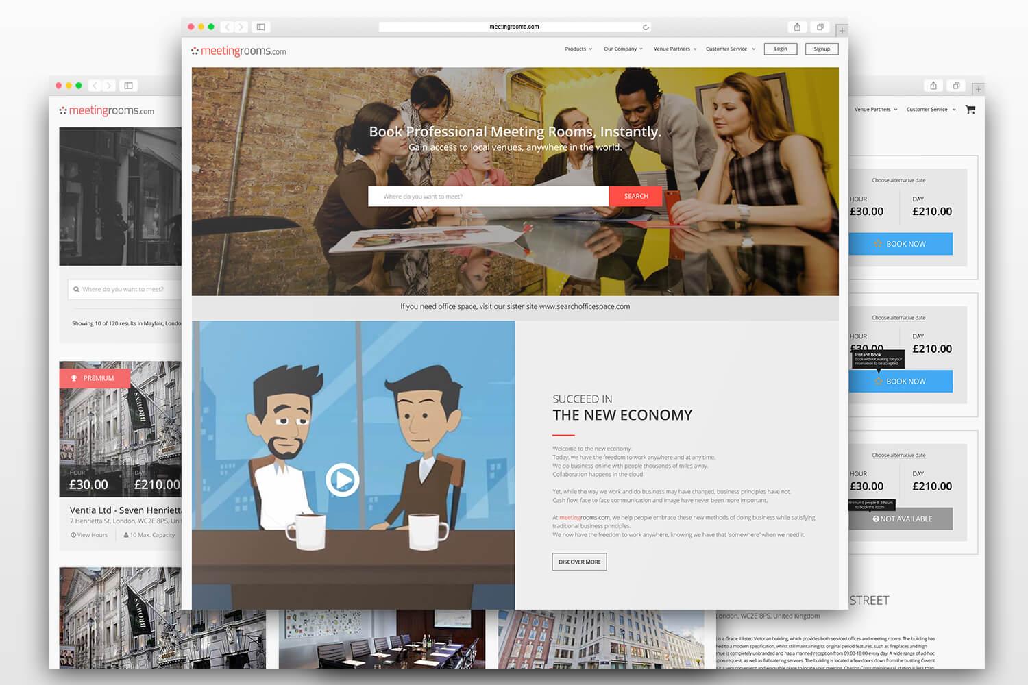 MeetingRooms Design