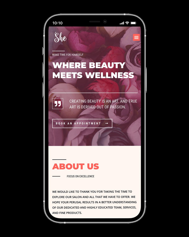 She Beauty Center Design