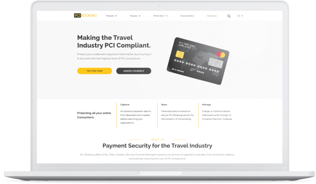 PCI Booking Homepage