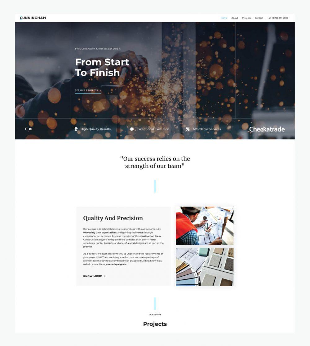 Cunningham Homepage