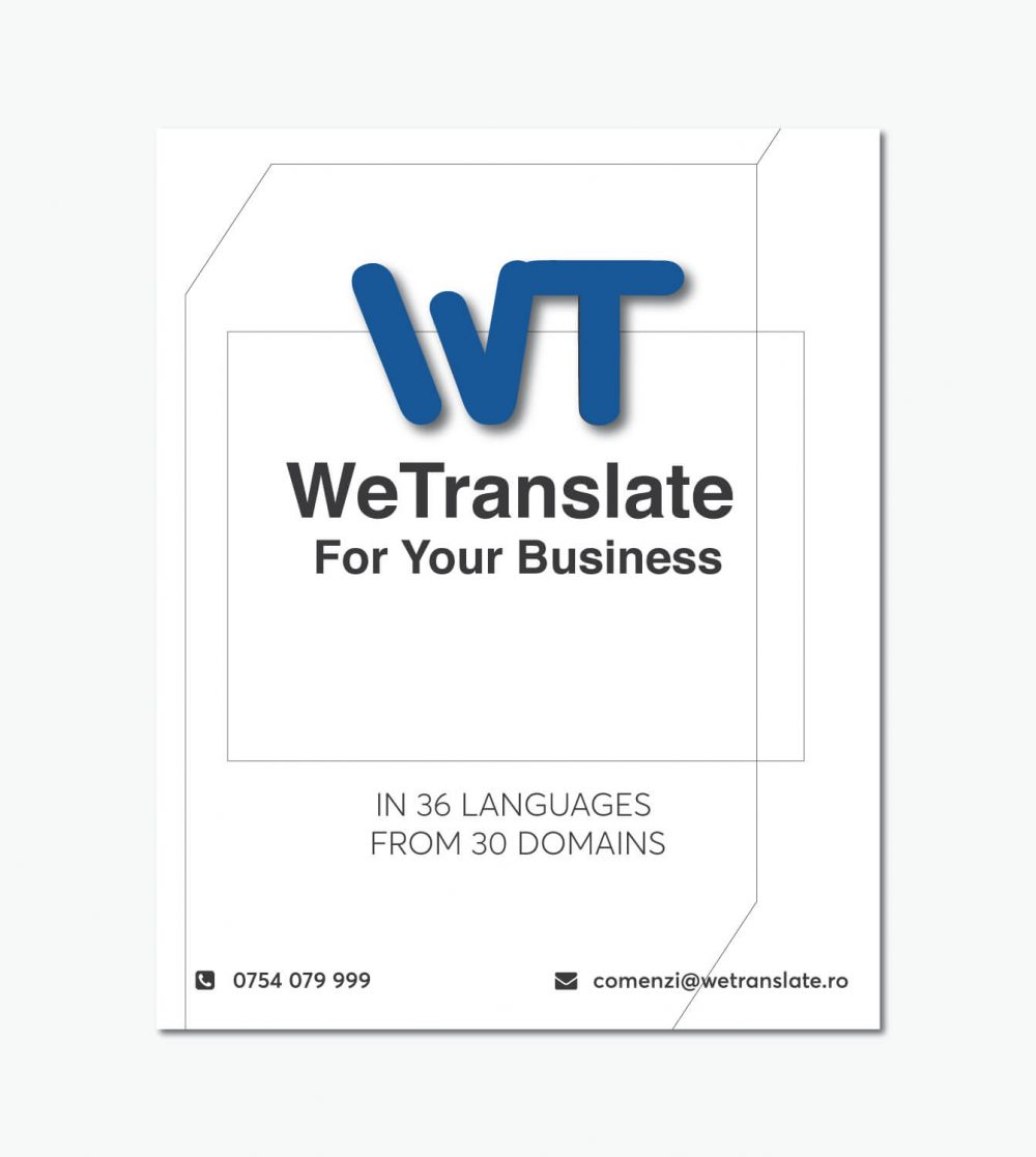 WeTranslate Flyer