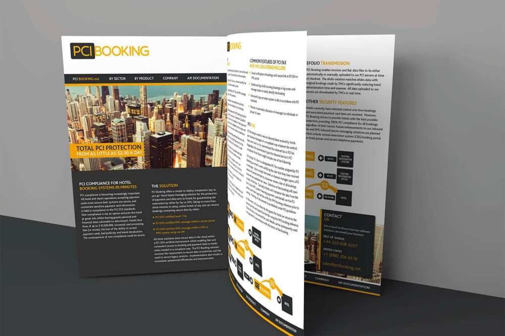 PCI Booking Brochure