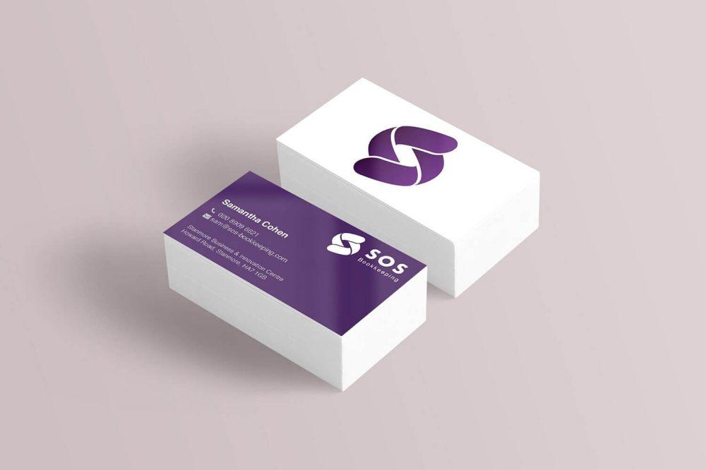 SJC Bookkeeping Business Cards
