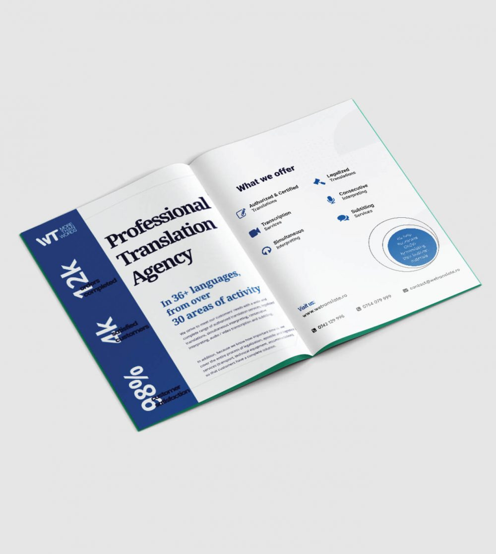 WeTranslate Brochure